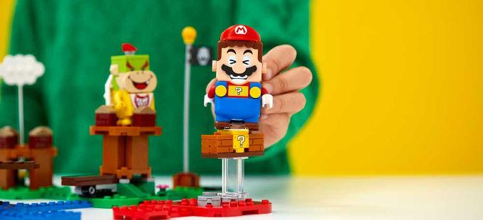 LEGO Super Mario ya tiene fecha de salida y precio