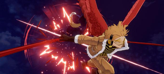Boku no Hero Academia: Hawks se muestra en acción a My Hero One's Justice 2