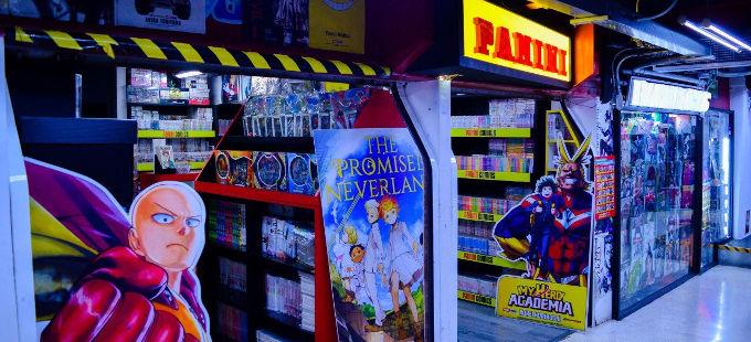 Tiendas Panini de manga y cómics en México cierran por coronavirus