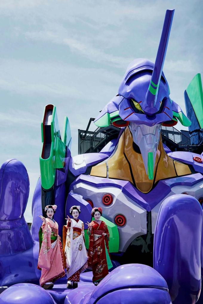 Evangelion: Podrás subirte al EVA Unit-01 en Japón - Universo Nintendo